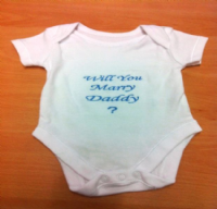 Personalised Message Vest
